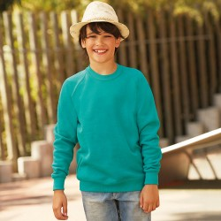 Fruit of the Loom Classic Kids Raglan Sweatshirt
